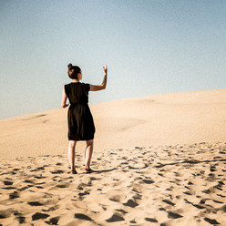 Precher dans le désert