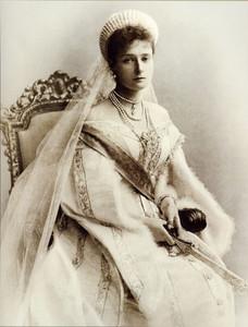 Её императорское величество, государыня Александра Федоровна