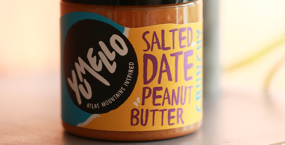YUMELO SALTED DATE PEANUT BUTTER