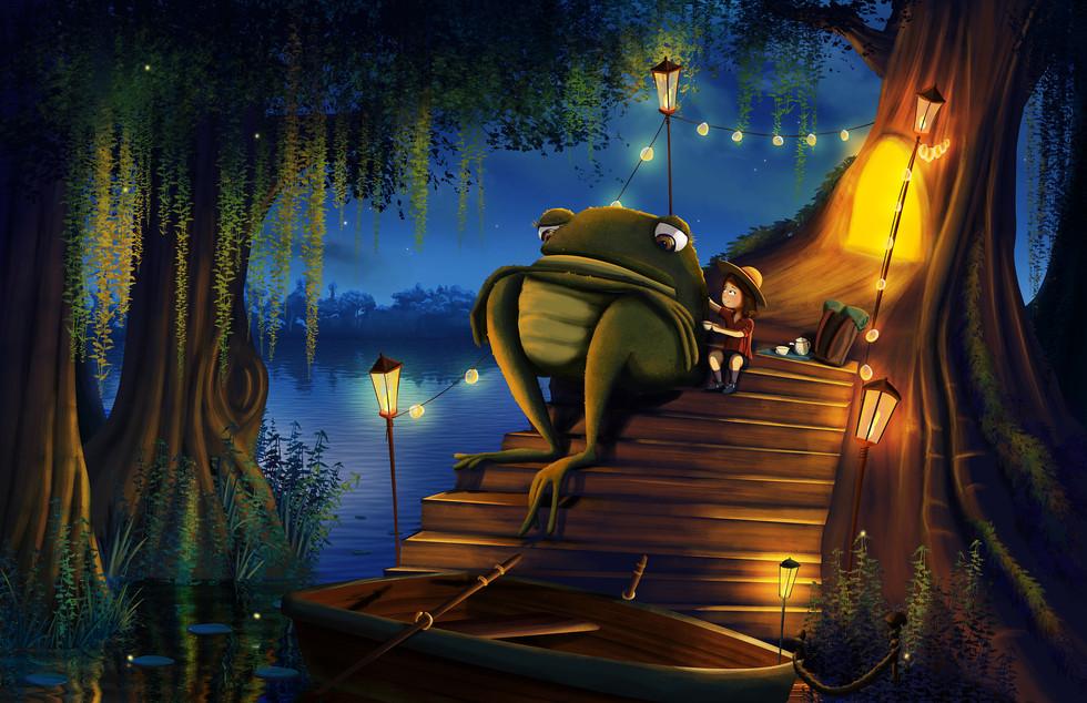 Frogbert Gets a Nice Cup of Tea