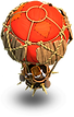 Balloons owned by SuperCell
