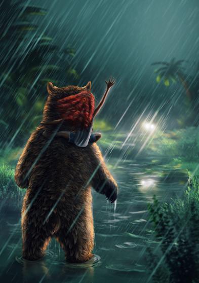 Caught in the Rain