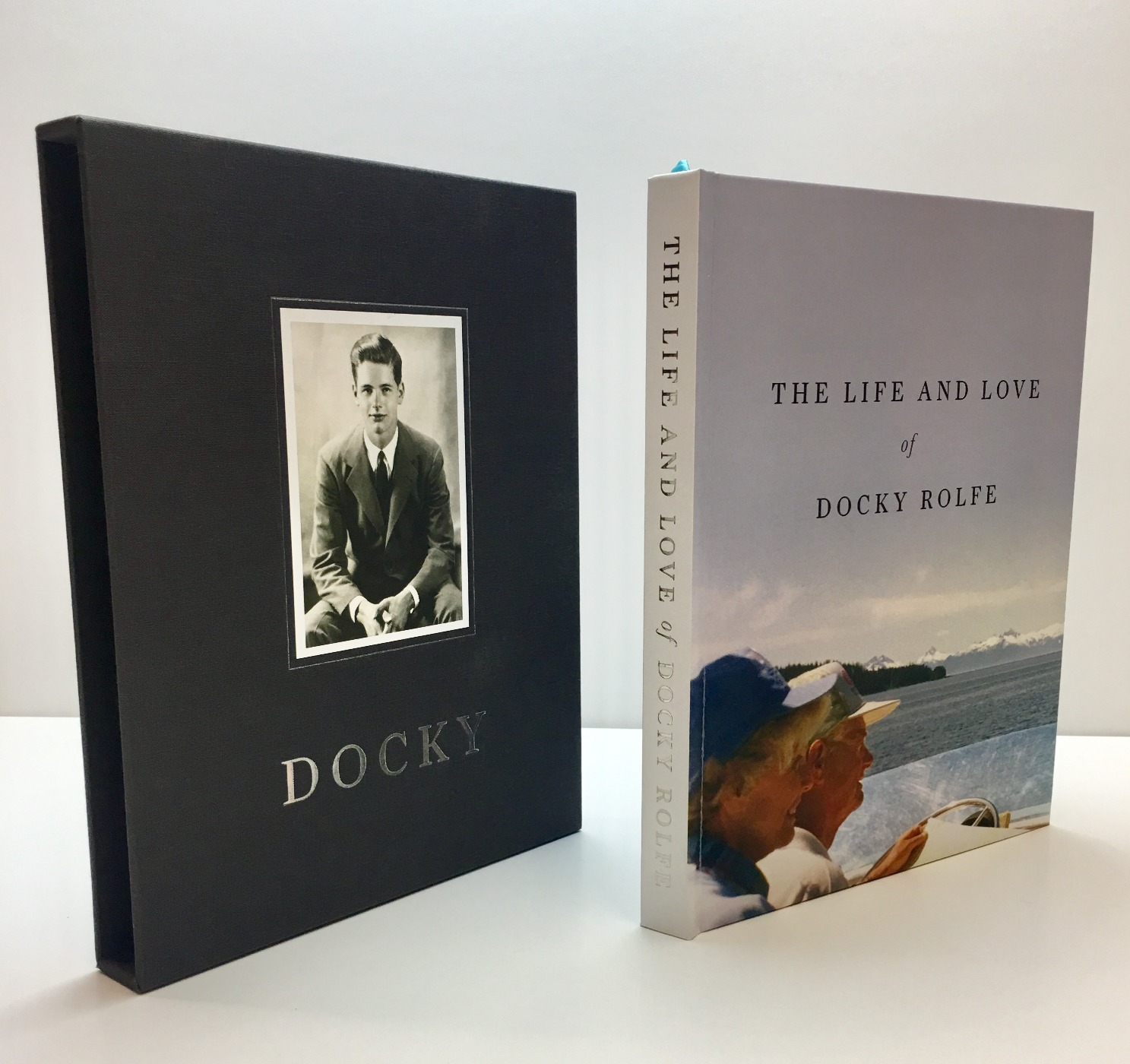Slipcase and cover
