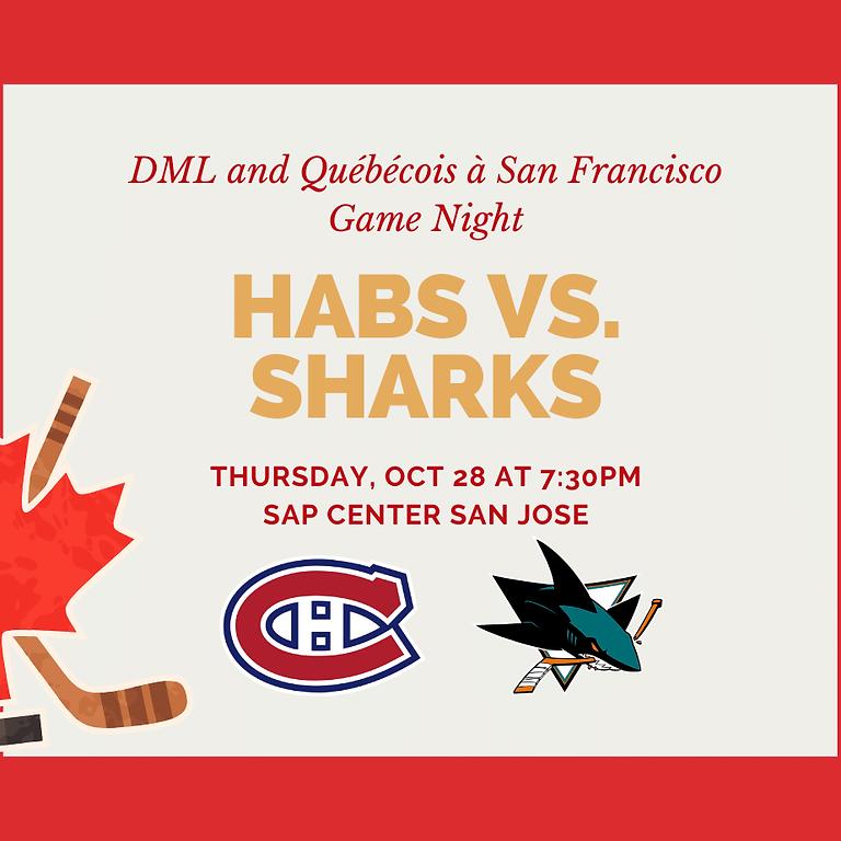 Montreal Canadiens vs. San Jose Sharks Game