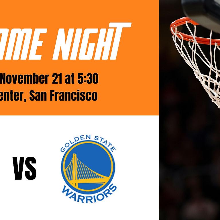 Raptors vs. Warriors Game Night