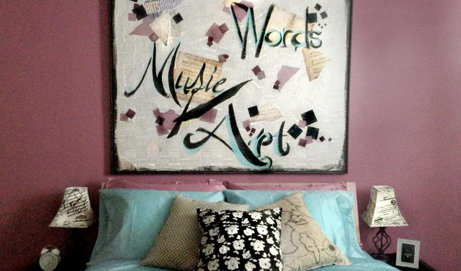 APT 2 - Arts Bedroom
