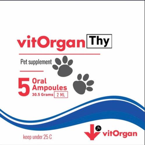 vitOrganThy | Línea Pet | Sistema Inmune Fuerte