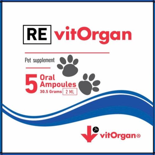RevitOrgan | Línea Pet | Vitalidad y Salud