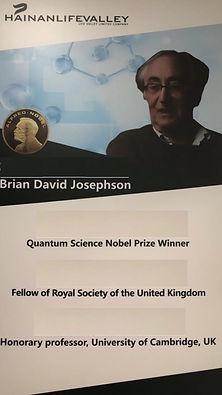 Brian David Josephson Quantum Science No