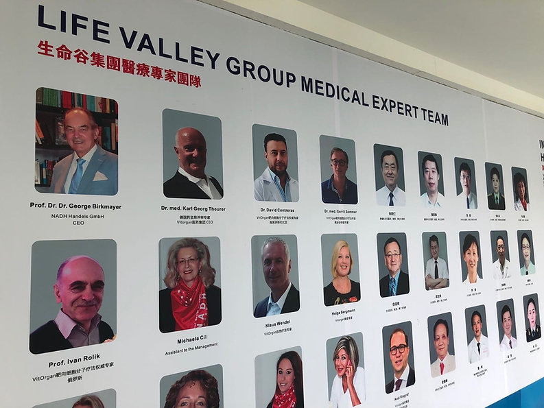 Life Valley Group Medical Expert Team Eq