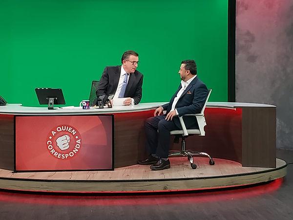 Entrevista a Quien Corresponda con Jorge
