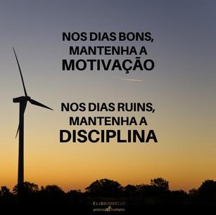 MOTIVAÇÃO/DISCIPLINA