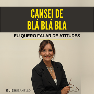 CANSEI DE BLÁ BLÁ BLÁ