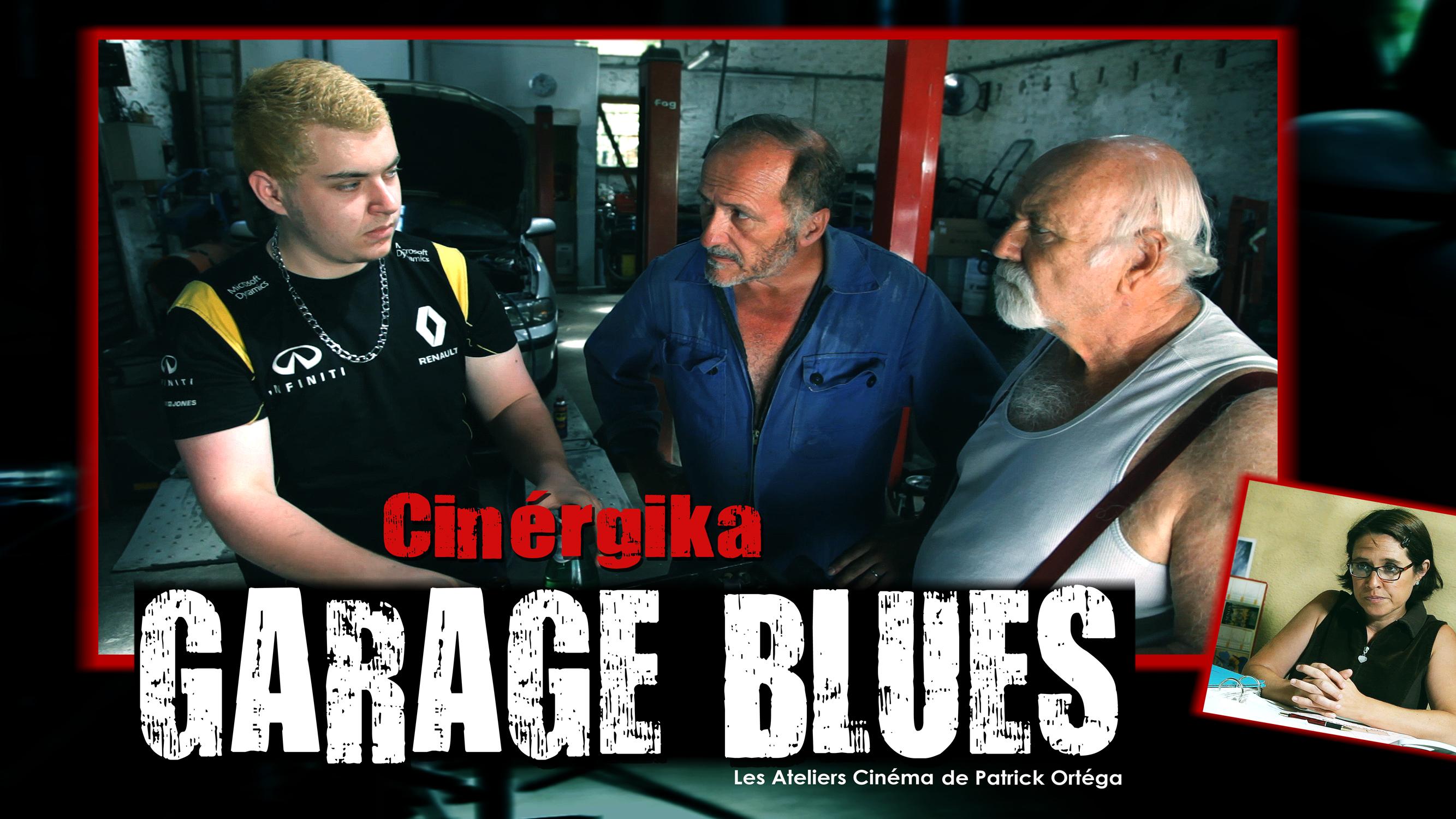 carte garage blues rouge