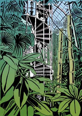 Kew Gardens Spiral Staircase