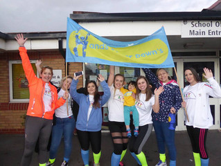 Hands Up For Down's charity walk 2017