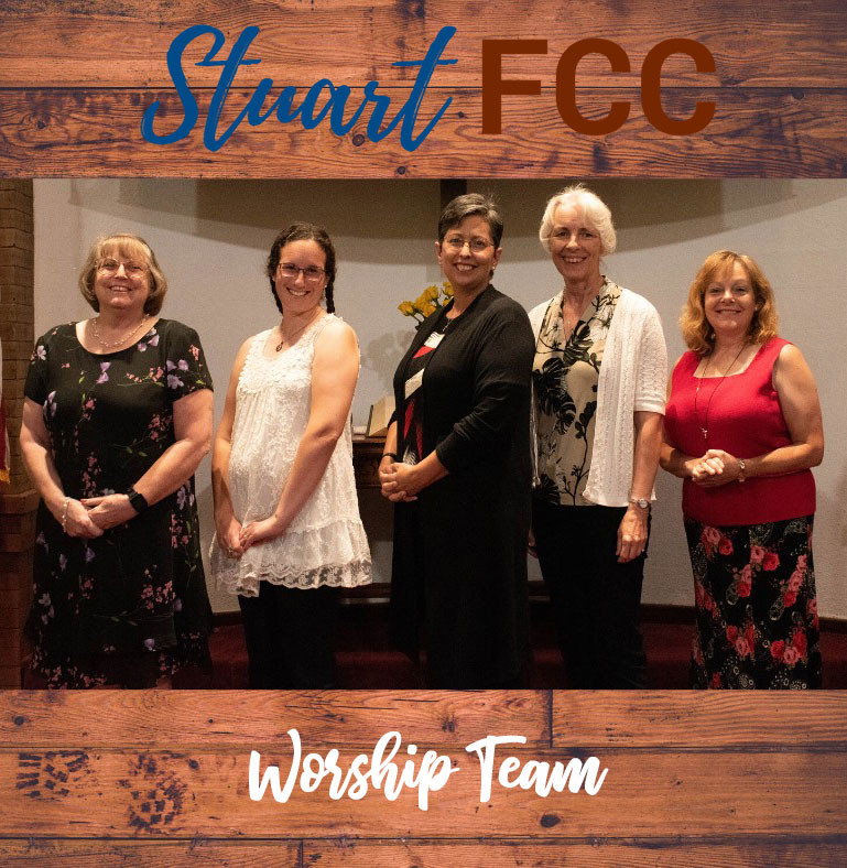 FCC Worship Team Line-Up