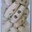 Thumbnail: Bouton bûchette en bois naturel