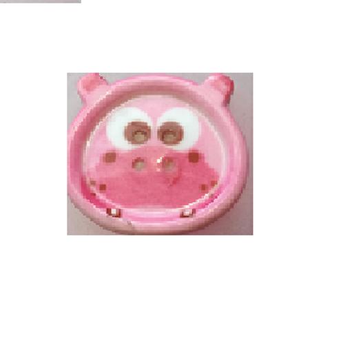 """Bouton enfant """"tête d'hippopotame"""""""