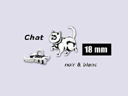 "Bouton enfant ""Chat"""