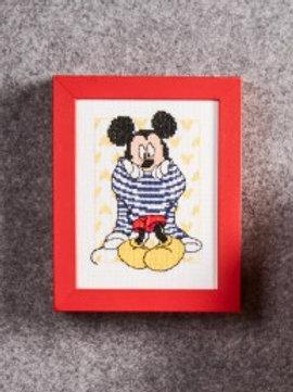 """Kit Tableau """"Mickey s'habille"""""""