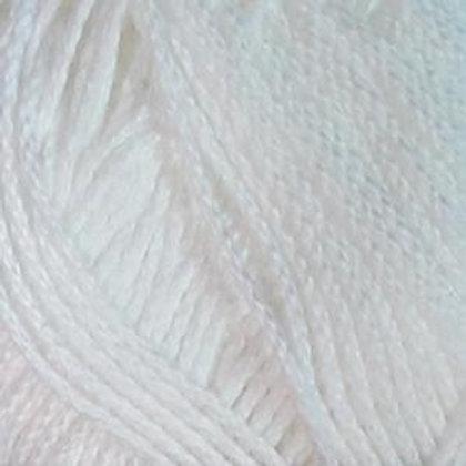 """Coton satiné """"Blanc"""""""