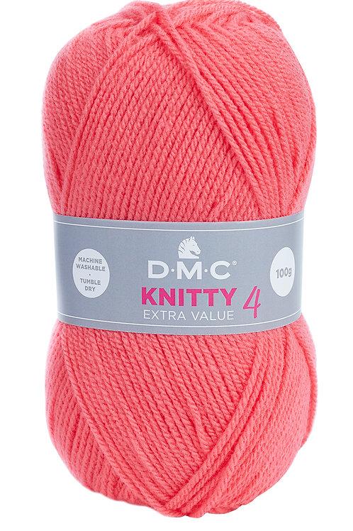 Knitty 4 - rose soutenu