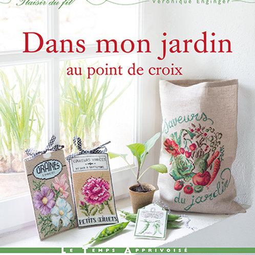 """""""Dans mon Jardin au Point de croix"""" ed. LTA"""