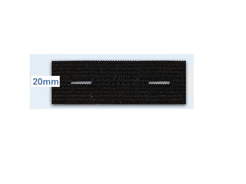 Élastique boutonnière - 20 mm