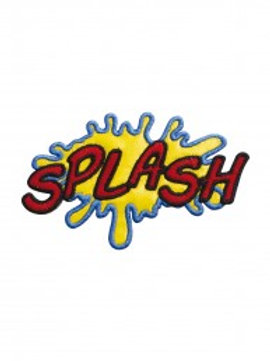 "Écusson ""Splash"""
