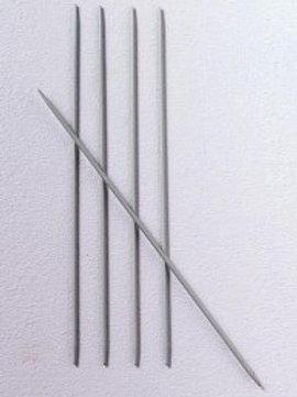 Aiguilles double pointes aluminium Bergère de France