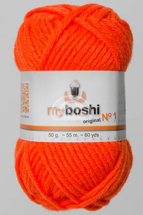 "Laine MyBoshi coloris 181 ""Neon Orange"""