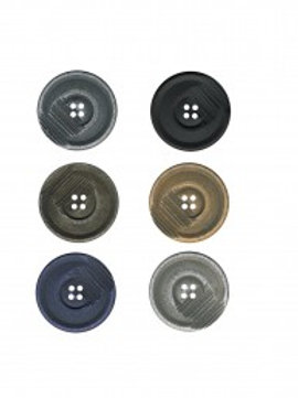 Lot de 6 boutons 30 mm