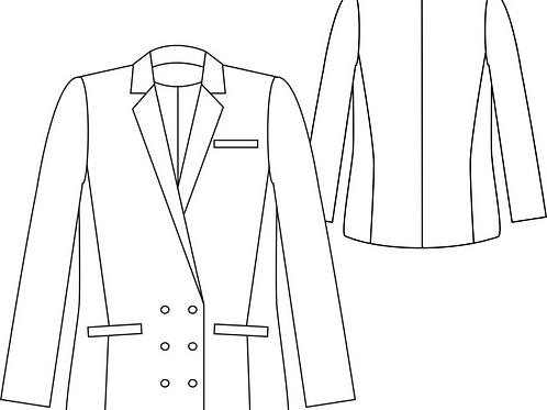 Raccourcir une manche de veste