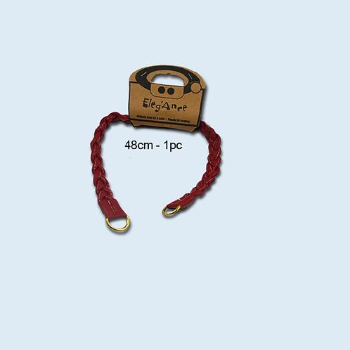 Poignée tressée pour sac à main