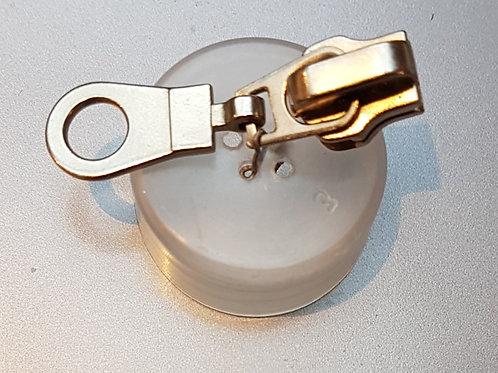 Curseur maille 5 pour fermeture métal
