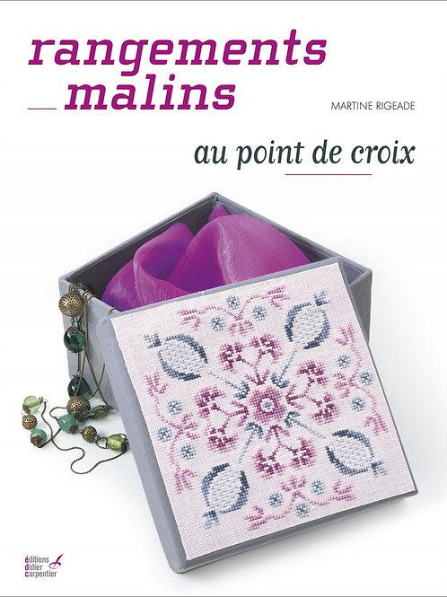 """""""Rangements malins au point de croix"""" Ed. Carpentier"""