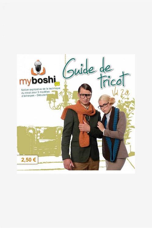 Guide de tricot n°2 MyBoshi