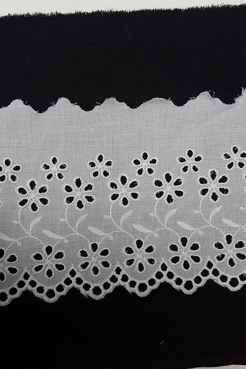 Broderie anglaise large - 11 cm