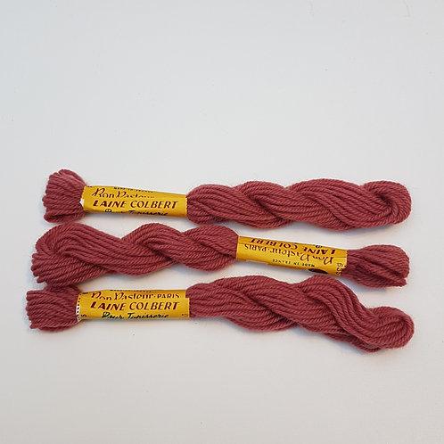 """Fil laine pour Tapisserie COLBERT - coloris 635 """"Rose Pêche"""""""