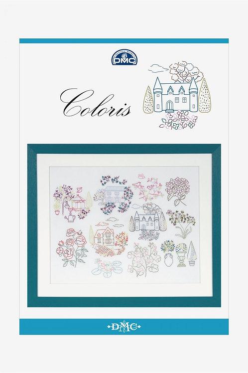 """Diagrammes """"Cottage"""" en fils Coloris"""