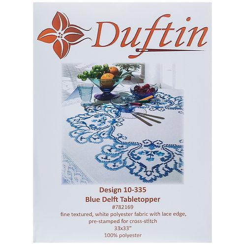 """Nappe à broder Duftin """"Blue Delft"""""""
