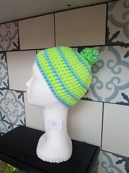 Bonnet au crochet enfant