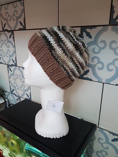 Bonnet au tricot enfant