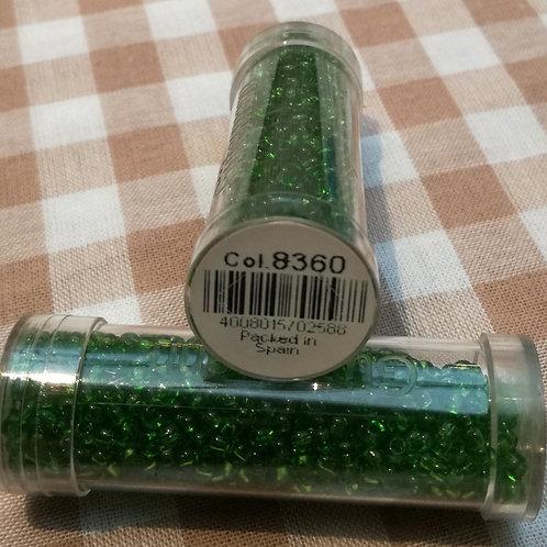 Perles de rocailles lavables - coloris 8360