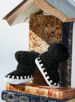 toison chaussons bottes bb
