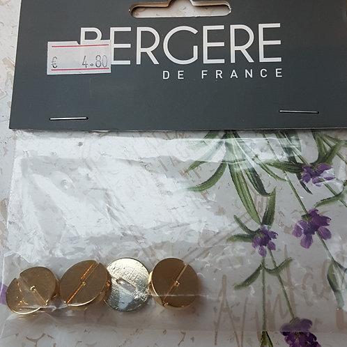 Boutons dorés Bergère de France