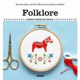 """""""Folklore"""" - mini points de croix"""