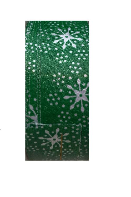 """Ruban de Noël """"Etoiles de Neige"""""""