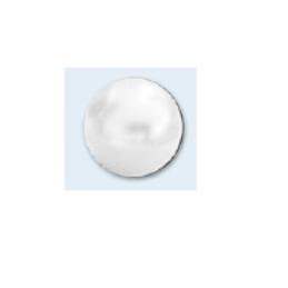 Bouton demi-boule nacrée